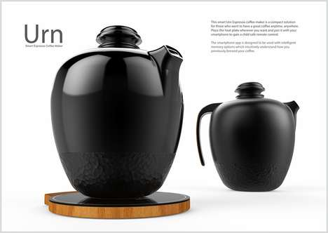 Traditional Hi-Tech Kettles - The Urn Coffee Maker Is Inspired By the Past with Future Functionality