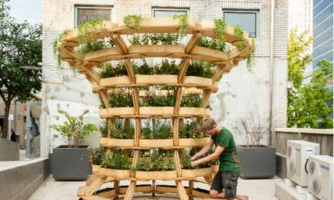 Lego-Like Gardens - The Modular Growmore System Makes Creative Gardening Accessible