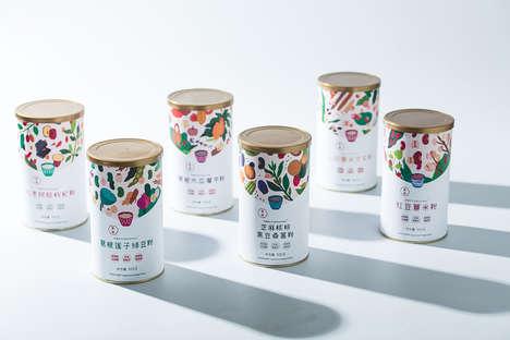 Canned Grain Powders