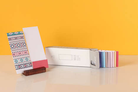 Delightful Card Dispensers - These Hello Greeting Card Sets Are Designed for Frequent Salutations