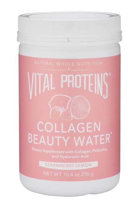 Appearance-Boosting Soluble Powders - Vital Proteins Offers Flavored Beauty Waters
