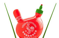 Collectible Condiment Figurines - Inspired by Sriracha Sauce, SKET ONE Created the 'Sketracha Dunny'