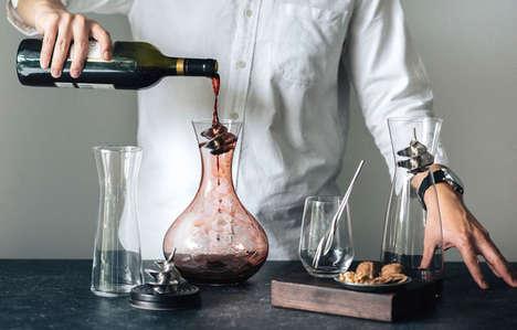 Spiralled Wine Accessories