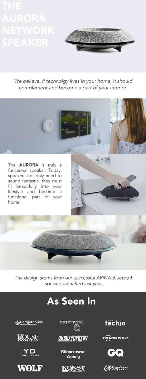 Bowl-Shaped Speakers