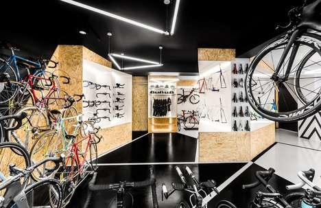 Triangular Cycling Shops