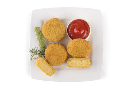 Bite-Sized Polenta Nuggets