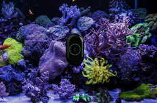 Aquarium-Cleaning Robots - 'MOAI' is a Robotic System That Cleans and Monitor's One Fish Tank