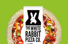Smoky Vegan Pizzas - The White Rabbit Co.'s Vegan Cheese Pizza is Subtly Smoky