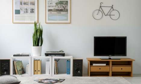 Cardboard Furniture Showrooms