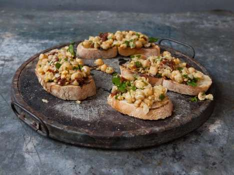 Chickpea Bruschetta Recipes