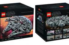 Intricate Sci-Fi LEGO Kits - The 'Millennial Falcon Star Wars' Kit Contains Over 7,000 Pieces