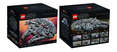 Intricate Sci-Fi LEGO Kits