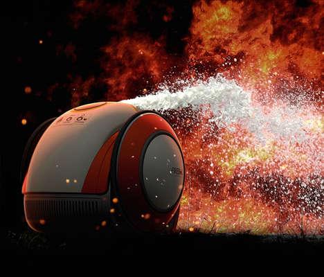 Autonomous Fire Extinguishers