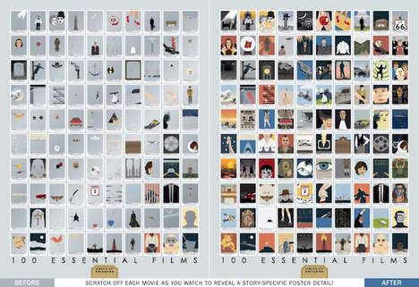 Scratch-Off Movie Posters
