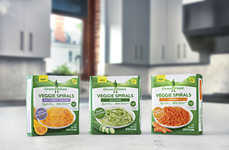 Frozen Vegetable Spirals - Green Giant's 'Veggie Spirals' Offer a New Way to Eat Frozen Vegetables