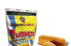 Cannabis Snack Cakes - Herbivores Edibles' 'Twonkie' Snack Reminds of an Iconic Sponge Cake