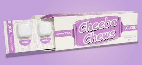 Cannabis-Infused Taffy Chews