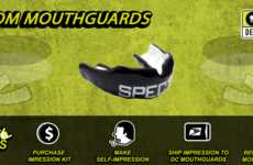 Printed Mouthguard Kits - Damage Control Helps Consumers Create Tailor-Made Mouthguards