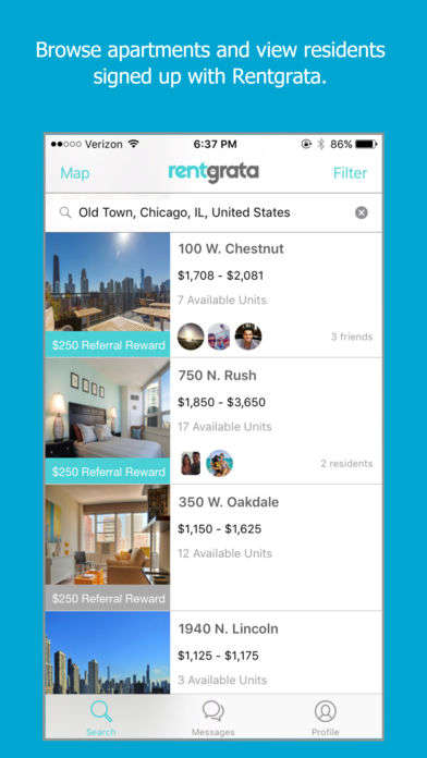 Apartment Referral Apps - The Rentgrata App Connects Apartment Hunters with Their Would-be Neighbors