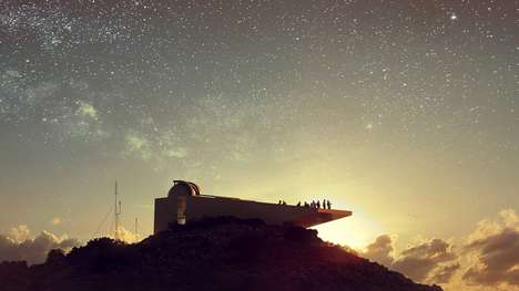 Science Fiction-Inspired Observatories - The Troodos Observatory Takes Cues from 'Star Wars'