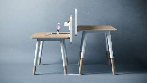 Homey Office Tables