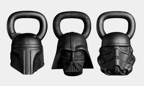 Sci-Fi Fitness Equipment - Onnit Has Released Star Wars-Themed Fitness Equipment