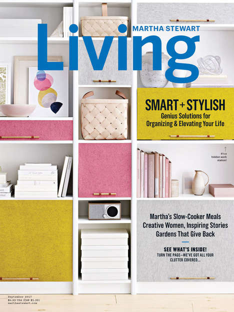 Digitized Lifestyle Magazines - Martha Stewart Living is Now Available in a Version for iPad