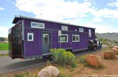 Cavernous Tiny Homes - The Pemberley's Flexibly Spacious Layout Redefines Tiny Living