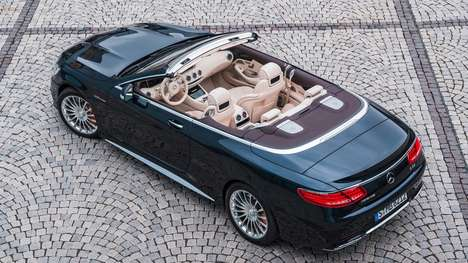 Rip-Roaring Luxury Convertibles
