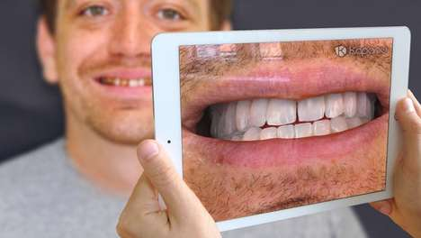 AR Dentistry Mirrors - This AR Cosmetic Dentistry Aid Helps Patients Try on Different Smiles