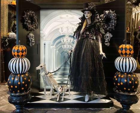 Spooky Retailer Pop-Ups