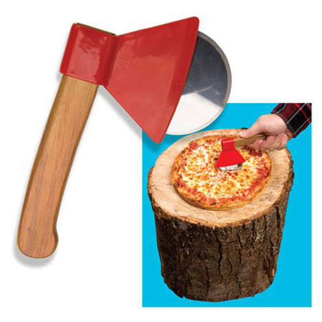 Ax-Inspired Pizza Cutters