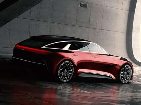 Elegant Asian Station Wagons - The Kia Proceed Concept Previews a Sporty and Mature Hatchback
