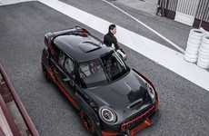 Race-Ready City Cars - The Mini John Cooper Works Gp Concept is Built for the Track