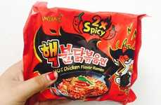 Ultra-Spicy Ramen Noodles - Samyang Hek's Hot Chicken Ramen Flavor Has Inspired YouTube Challenges