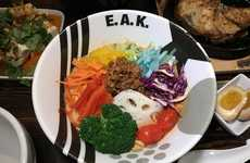 Rainbow Ramen Dishes - E.A.K Ramen Offers a Creative Ramen Dish Inspired by Pride Month