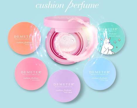 Cushioned Perfume Gels - The Demeter Cushion Perfume is Available in 8 Scent Varieties