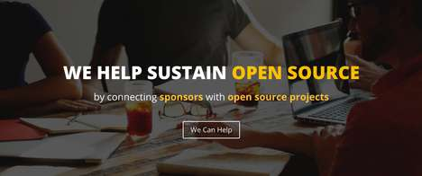 Developer-Funding Platforms - Code Sponsor Funds Open Source Projects With Sponsored Advertising