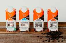 Buttered Cold Brew Beverages - The Bulletproof Coffee to Go is Now Available in RTD Cartons