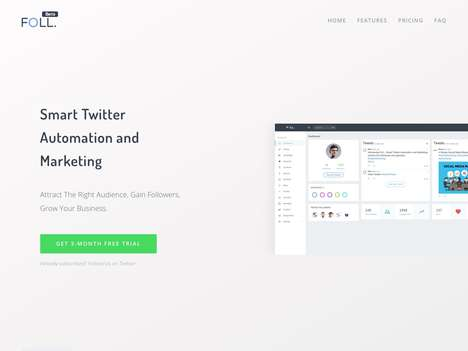 Automated Social Marketing Services - Startup Foll. Provides Smart Twitter Automation and Marketing