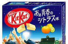 Youthful Citrus Chocolates - This Kit Kat Bar Flavor Aims to Capture the Essence of Youth