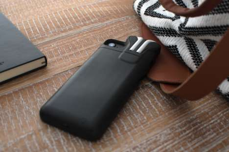 Double Duty Smartphone Cases - The PodCase Recharges Your iPhone and Keeps Your AirPods Safe