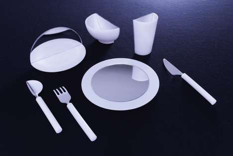 Mirrored Tableware Sets