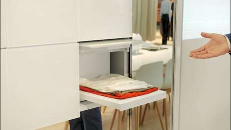 Clothes-Folding Laundry Machines - Panasonic's Sustainable Maintainer Will Fold Your Clean Laundry