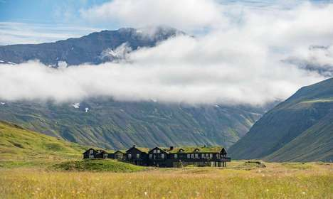 Remote Mountainous Retreats - Deplar Farm is Hidden Away in Iceland's Troll Peninsula