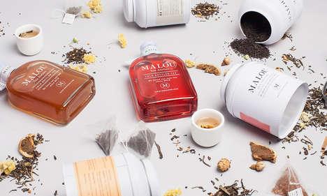 Luxurious Bottled Cold Teas