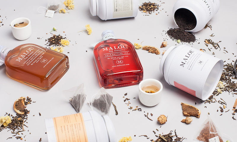 Luxurious Bottled Cold Teas