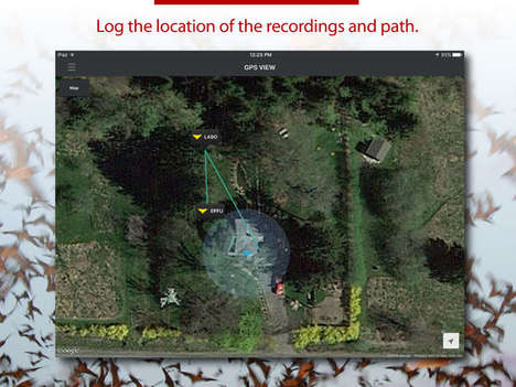 Bat-Locating Apps - The Echo Meter App Helps the General Public Track and Collect Data on Bats