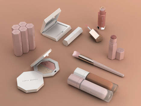 Pop Star-Designed Makeup Collections - Rihanna's Fenty Beauty Collection Reveals Diverse Shades