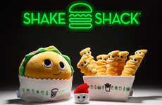 Exclusive Fast Food Plushies - The Kidrobot x Shake Shack Collection Features Food-Themed Characters
